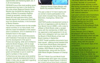 News – Page 2 – World Bowls