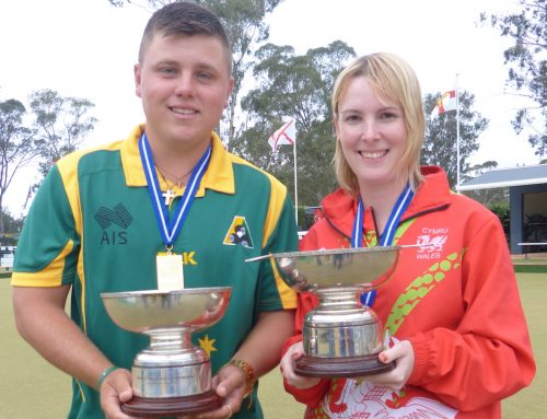 Singles crowns to Wales and Australia