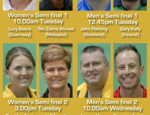 World Cup indoor singles – Day 7